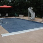 in-ground pool and patio furniture